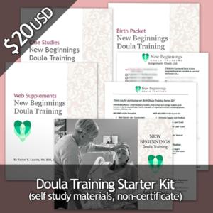 Birth Doula Training Starter Kit - Only $20